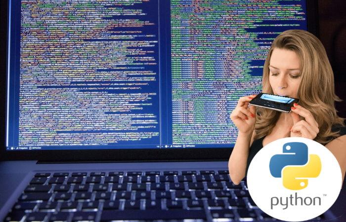 Python programming harmonica